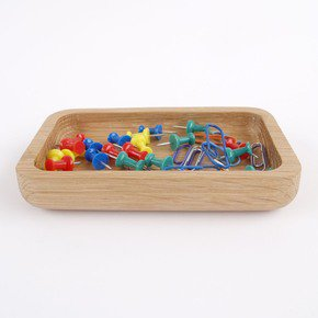 Oak Paperclip And Pin Tray - Utology - Treniq