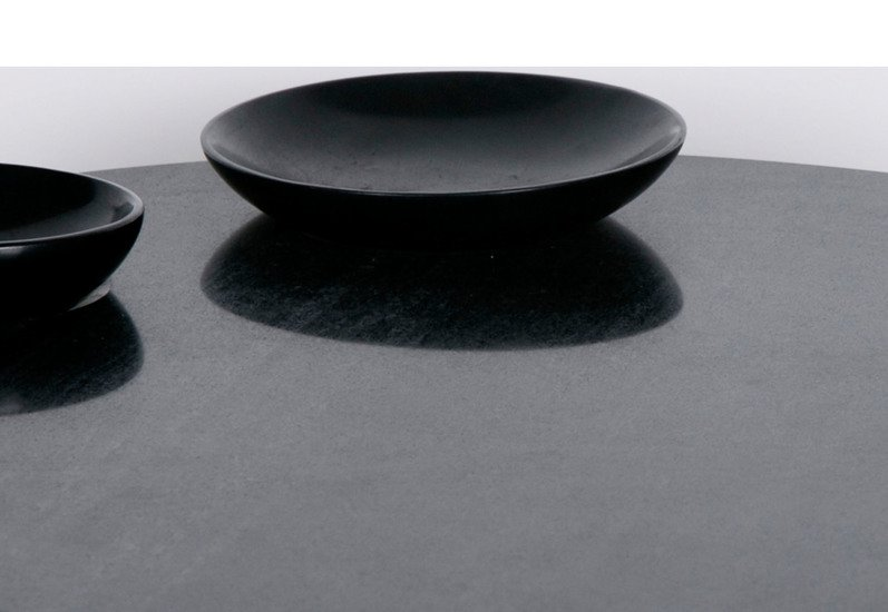 Black marble food platter carved additions treniq 4