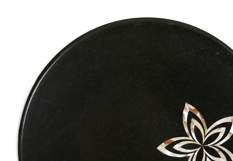 Black marble tabletop carved additions treniq 2