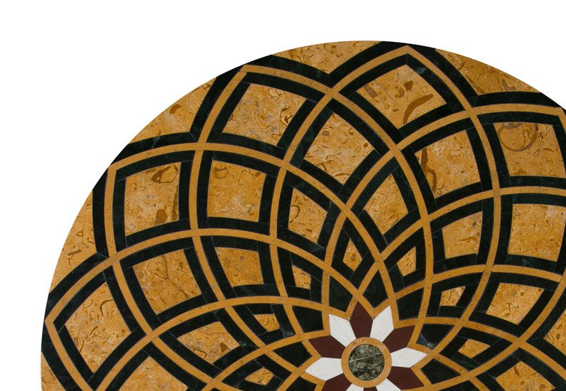 Bloom table top carved additions treniq 2