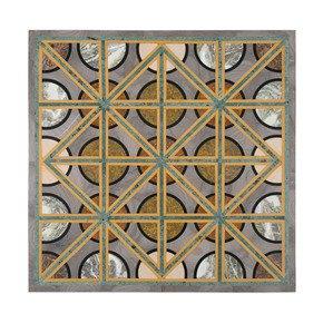 Geometric Tabletop - Carved Additions - Treniq