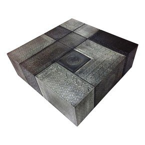 Moroccan Combo Coffee Table Silver Medium