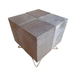 Arabian Woods Concrte Combo Side table