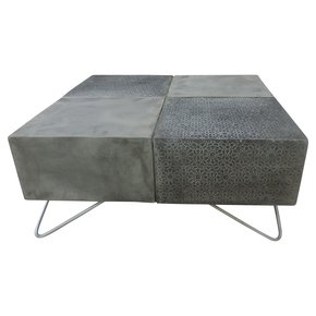 Arabian Woods Concrete Combo coffee table
