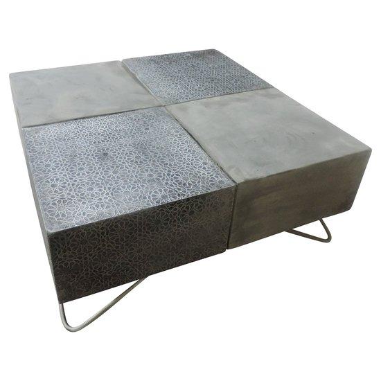 Aw concrete coffeetable side