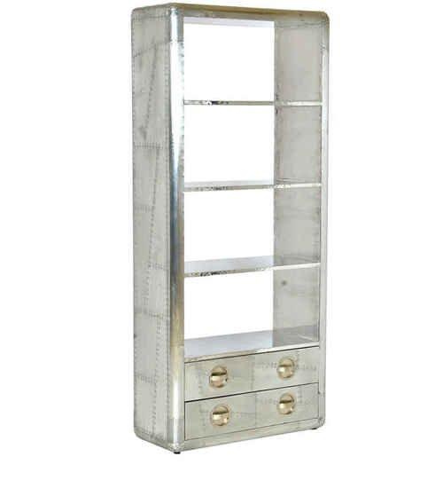 Aviator 2 drawer book shelf