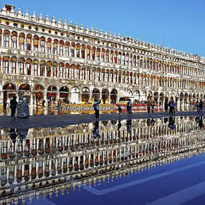 The Old Procuratie in San Marco Square