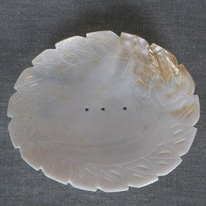 Mother of Pearl Pin tray I-Carved Additions-Treniq