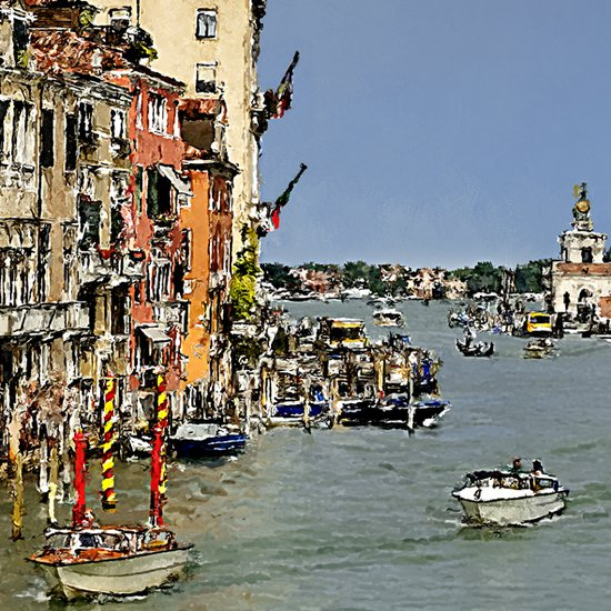 View from accademia bridge  01