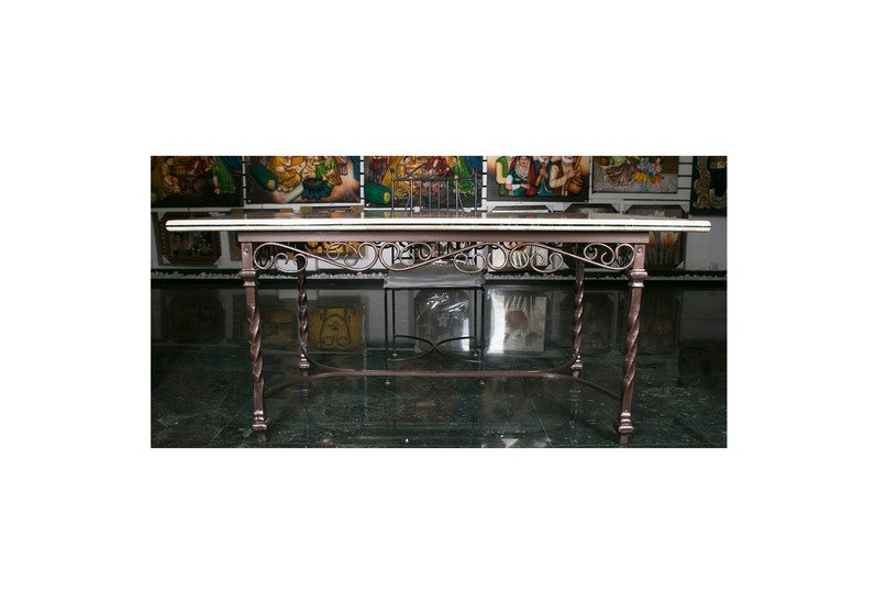 Florentine inlay tabletop carved additions treniq 1