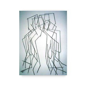 Seated Model (multiple-image) No.4 - Kevin Jones - Treniq