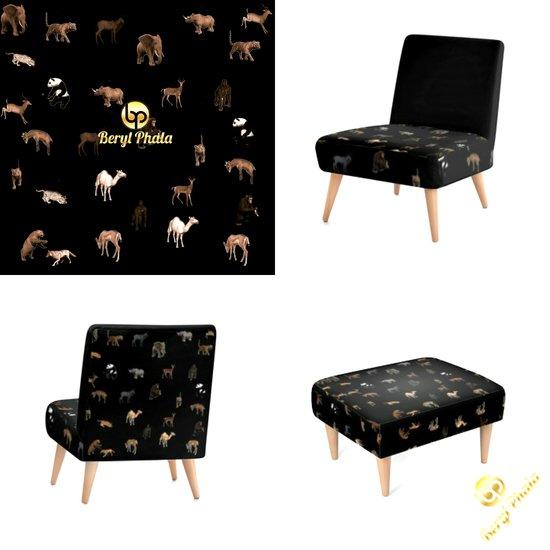 Animal print furniture1
