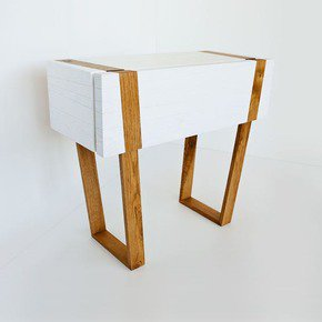 White Oak Console Table - Eli Chissick - Treniq