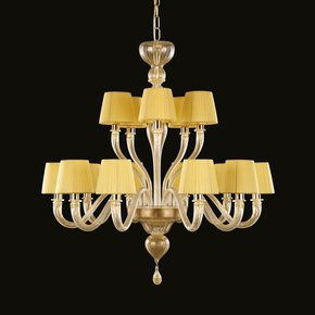 Chapeau-Modern-Italian-10+5-Lights-Chandelier_Multiforme-Lighting_Treniq_0