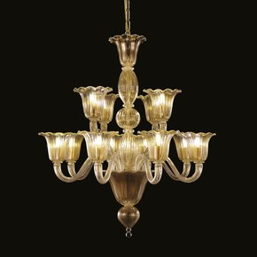 Bellepoque-364-Gold-Murano-Glass-Venetian-8+4-Lights-Chandelier-_Multiforme-Lighting_Treniq_0