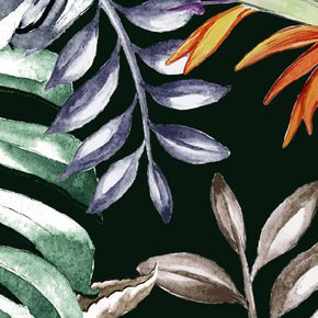 Tropical Monstera Fabric