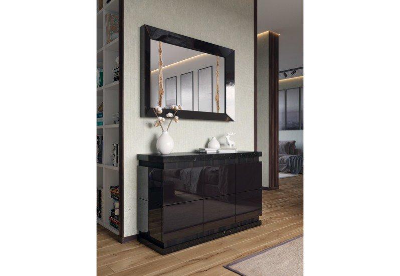 Mirror with macassar fragment wood interior solutions ltd treniq 7