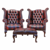 Royal chesterfield chair in leather shakunt impex pvt. ltd. treniq 1