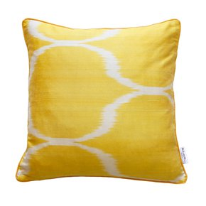 Ikat Cushion Sunstream