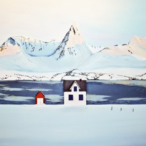 January in North Painting