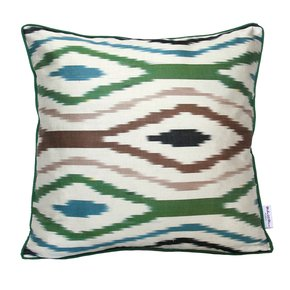 Ikat Cushion Northern Light