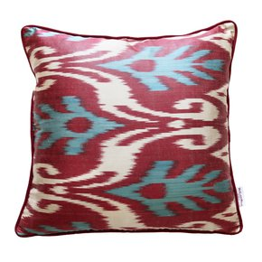 Ikat Cushion Arctic Pine