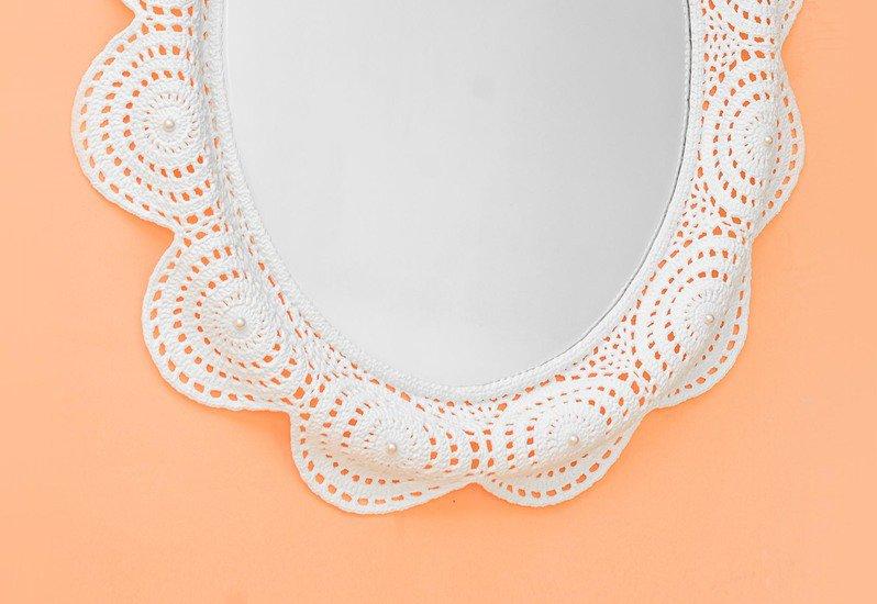 Pearls dew mirror j. s. art design treniq 3