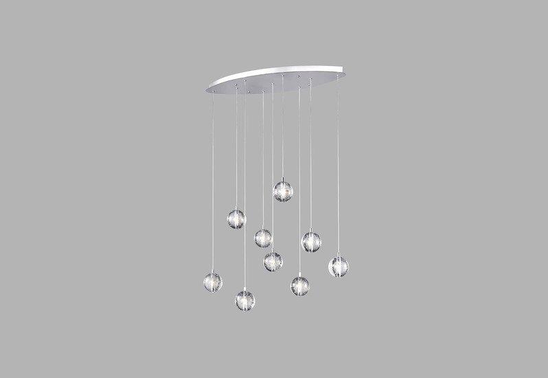 Bubbles set of 9 pendant lamp avivo lighting treniq 1
