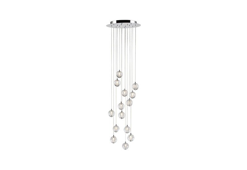 Bubbles set of 14 pendant lamp avivo lighting treniq 1