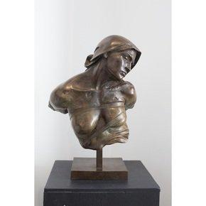 'Buste de Femme Esclave' Sculpture