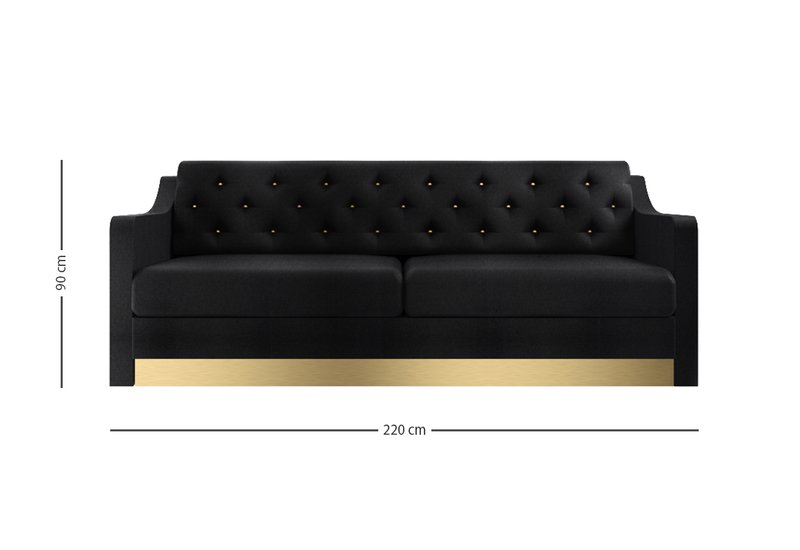 Divano victor 2 seat sofa marioni treniq 6