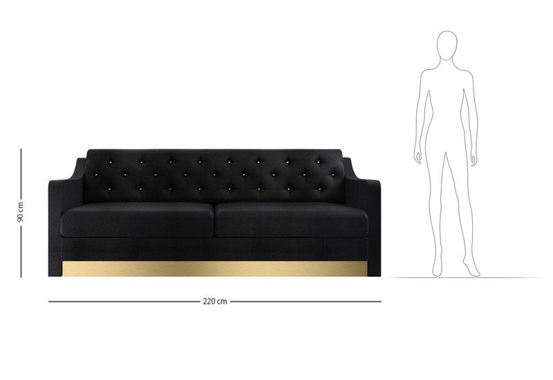 Divano victor 2 seat sofa marioni treniq 7