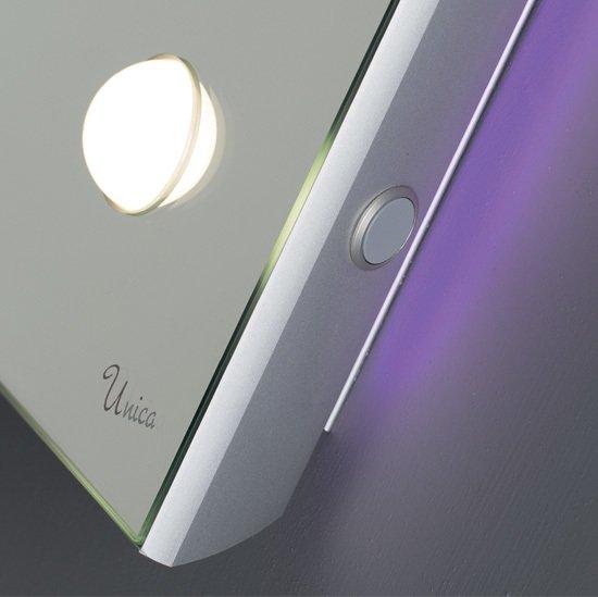 6 punto luce pulsante specchio