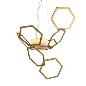 Ramie pendant lamp (no glass)
