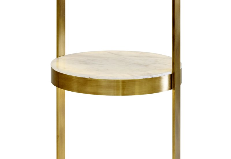 Piantana con tavolino josephine floor lamp marioni treniq 3