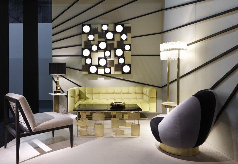 Piantana con tavolino josephine floor lamp marioni treniq 5