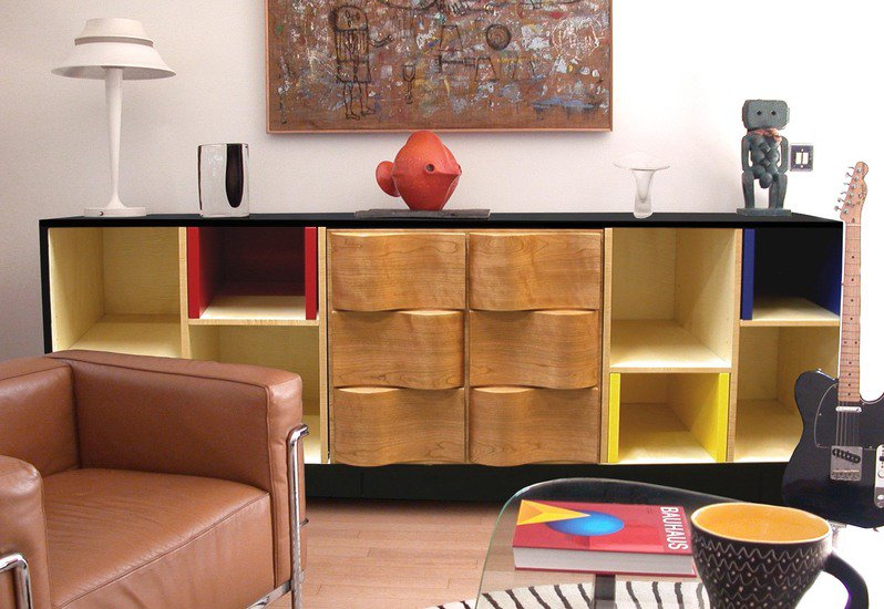 Mondrian sideboard studio km alain marzat treniq 5