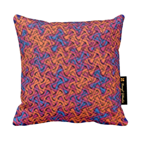 Cushion-Blue-And-Orange-Weave-Print-Design_Beryl-Phala_Treniq_0