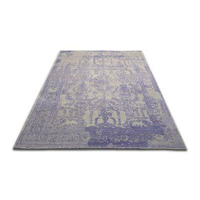 Quadrant I Traditional Silk and Wool Rug