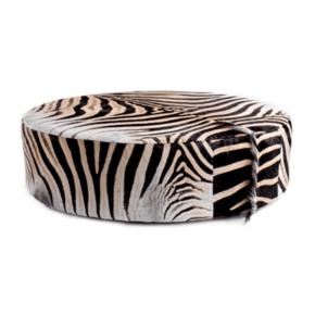 Zebra Ottoman
