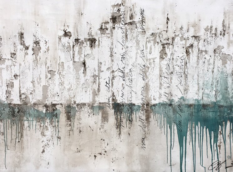 Oil on canvas  1000