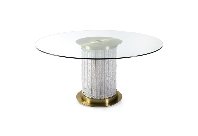 Tavolo rotondo howard center table marioni treniq 1