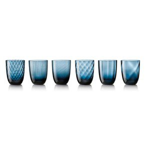 Idra Water Glasses - Set of Six by Nason Moretti