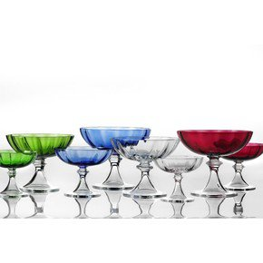 Alzate Glass - Small - Green by Nason Moretti