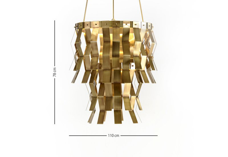 Sospensione veronica suspension lamp marioni treniq 6