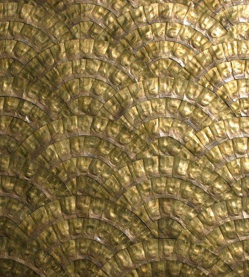 Brass tile