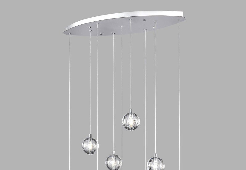 Bubbles set of 9 pendant lamp avivo lighting treniq 2