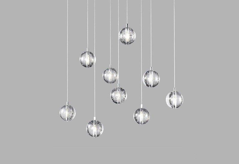 Bubbles set of 9 pendant lamp avivo lighting treniq 3