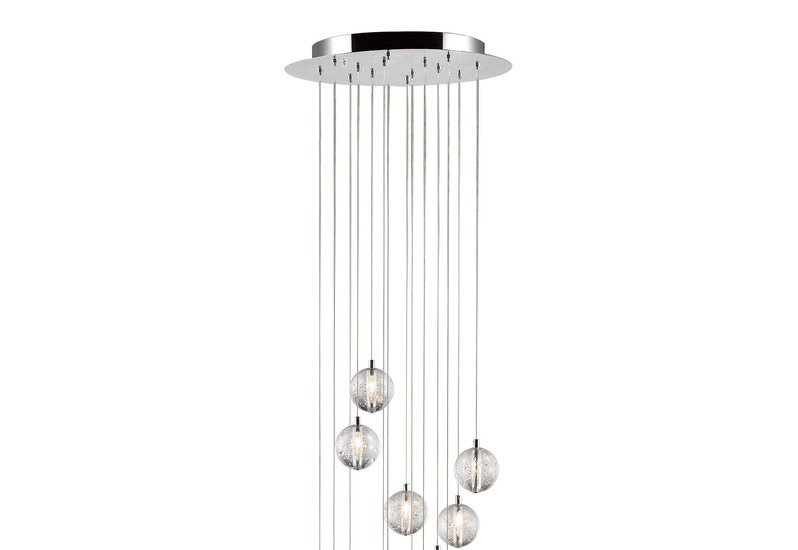Bubbles set of 14 pendant lamp avivo lighting treniq 2