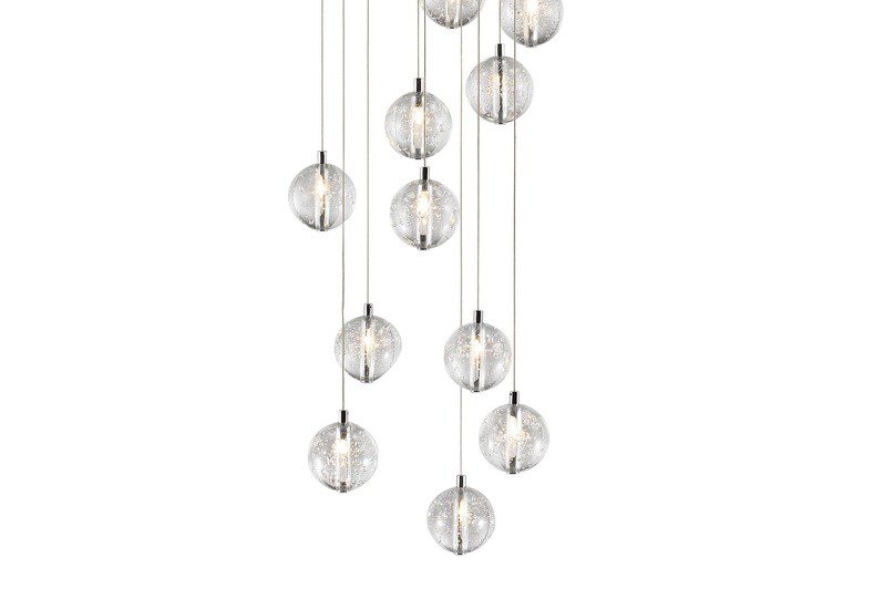 Bubbles set of 14 pendant lamp avivo lighting treniq 3